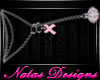 cancer awareness necklac