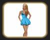 Caz lite blue dress
