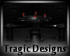-A- Dark Bar Table