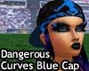 Dangerous Curves Blu Cap