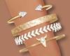 ~A: Delicate Bracelets L