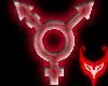 Transgender Red Swirl