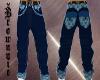 Gucci Mania Jeans Blue