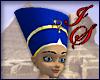 Blue Egyptian Headdress