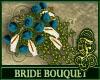 Bride Bouquet Teal