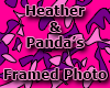 Heather & Panda's Photo