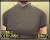 F T-Shirt Grey Regular