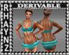 Derivable Ruffled Bikini