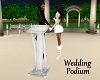 Wedding Podium & Poses