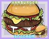 {W} Hamburger Sticker