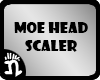 (n)Moe Head Scaler