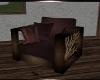 BRS! Burgundy Chair