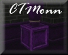 CTM Purple Pedestal Box