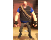 TF2 Blue Heavy Outfit