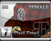 [BE] Red Plaid|Fitted F