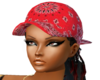 blk w/red cap