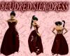 [FCS] BludRed Silk Dress
