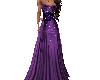Purple Gown Black Corset