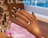LA Beauty Nailss s hands