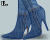 SL Jeanne denim boots