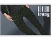 M` XO Green Camo Jeans