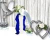 Wedding Fountain Blue
