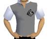 GREY Short Sleeve Collar