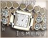 [Is] Gold Diamond Watch
