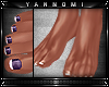 ~ Bare Feet   Purple