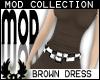 -cp Mod Brown Dress