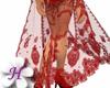 Elegant Shawl#Red