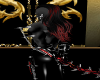 Blck/Red Demonic Hair