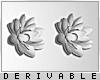 0 | Flower Earrings