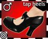 *m Black Tap Heels M