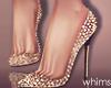 Butterfly Gold Heels