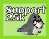 Support 25k