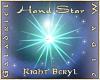 Hand Star – R Beryl