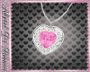 HEART NECKLACES PINK