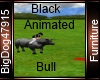 [BD] Black Animated Bull