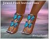 Jewel Feet butterflies