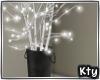 Winter tree & lights