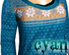 *c* Winter Fairisle Blue