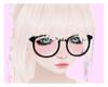~S~ Black glasses