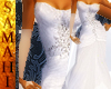 {S} Wedding White shawl