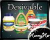 Derivable Pantry Food