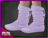 Lilac Western Boots