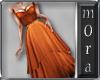Saffron Evening Gown