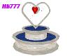 HB777 CBW Heart Fountain