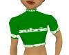 aubrie green abby shirt