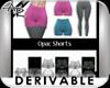 !Basic Mesh Opac Shorts